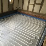 Bedroom UFH loop
