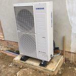 Heat pump install B